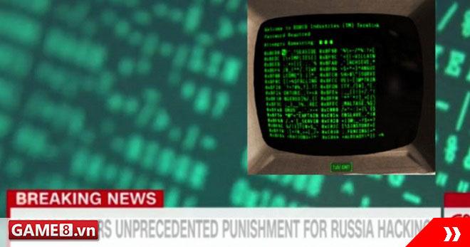 CNN xài hình ảnh game Fallout 4 để minh họa cho tin tặc Nga tấn công Mỹ