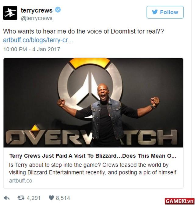 Không phải Doomfist, đây có lẽ mới là nhân vật mới của Overwatch?