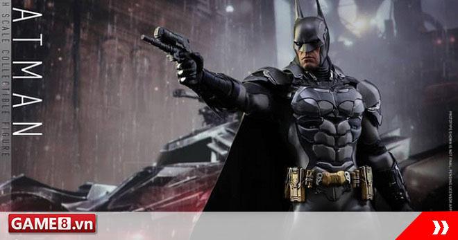 Ngất ngây với bộ mô hình Batman còn ngầu hơn cả phim người thật