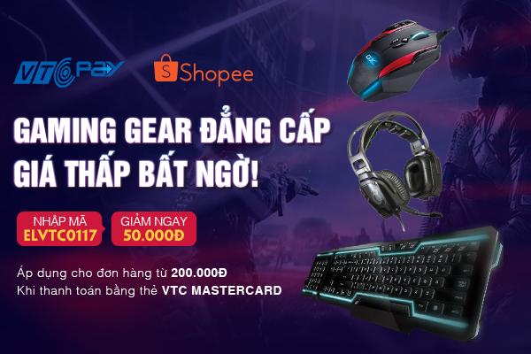 Gaming Gear đẳng cấp – Giá thấp bất ngờ cùng VTC Pay và Shopee - ảnh 2