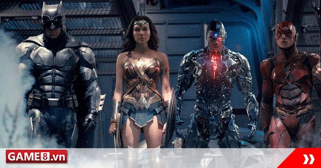 Lộ diện hình ảnh mới về Batman và nhóm siêu anh hùng DC trong Justice League