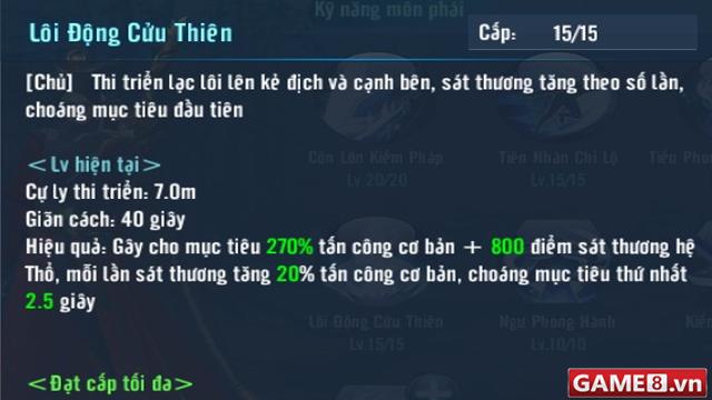 Võ Lâm Truyền Kỳ Mobile: Hệ thống kỹ năng đỉnh cao của Côn Lôn phái - ảnh 6