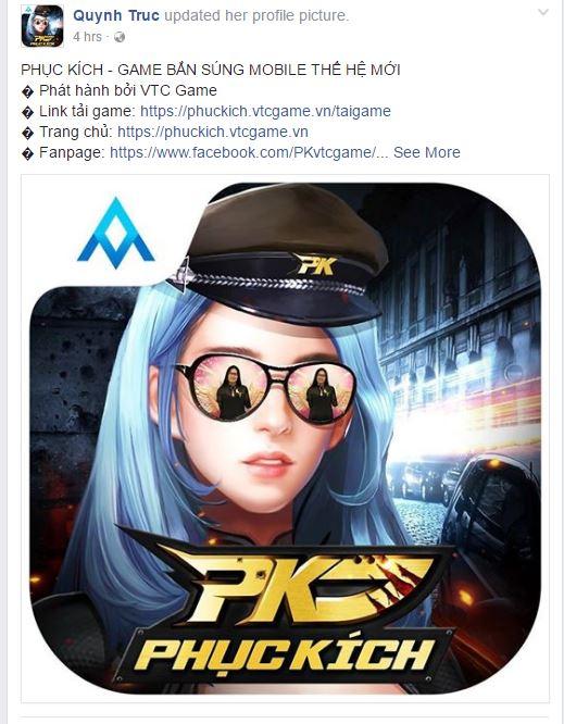 Ra game kiểu mới, 700 nhân viên VTC Game treo avatar chế Phục Kích - ảnh 5