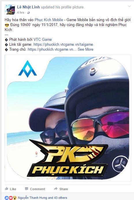 Ra game kiểu mới, 700 nhân viên VTC Game treo avatar chế Phục Kích - ảnh 7