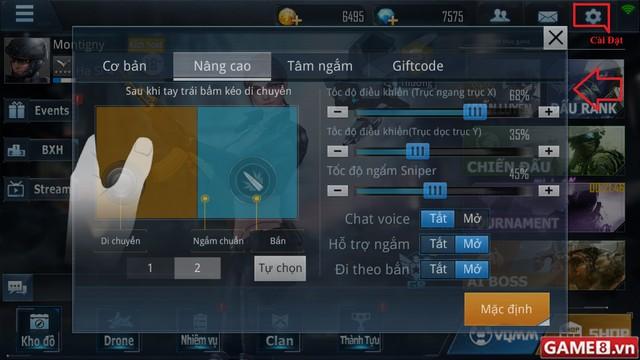 Hướng dẫn cách nhập Giftcode game Phục Kích Mobile - ảnh 2