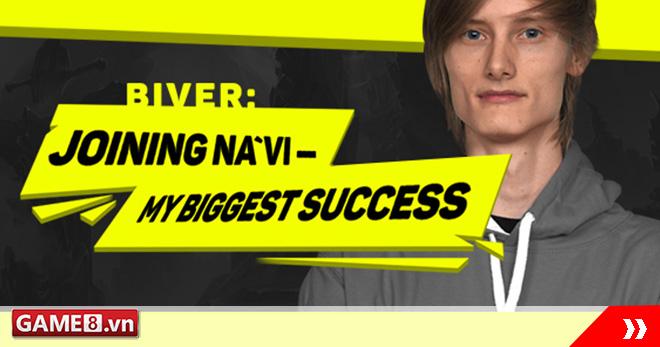 DOTA2: Phỏng vấn Na'vi.Biver: ''Được gia nhập Na'vi là thành công lớn nhất trong năm qua của tôi''