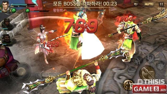 Trải nghiệm Dynasty Warriors: Unleashed siêu phẩm chặt chém 3D đến từ Nexon - ảnh 2