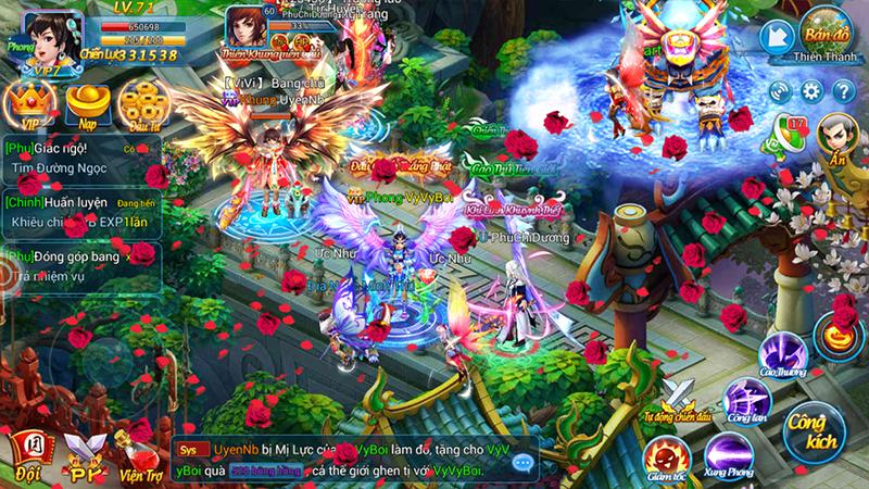 Kiếm Vũ Vô Song - Game mobile đề tài tiên hiệp sắp ra mắt Việt Nam - ảnh 2
