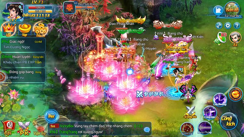 Kiếm Vũ Vô Song - Game mobile đề tài tiên hiệp sắp ra mắt Việt Nam - ảnh 4
