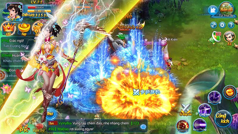 Kiếm Vũ Vô Song - Game mobile đề tài tiên hiệp sắp ra mắt Việt Nam - ảnh 5
