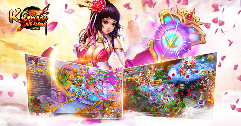 Kiếm Vũ Vô Song - Game mobile đề tài tiên hiệp sắp ra mắt Việt Nam - ảnh 7