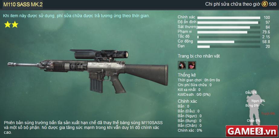 Xuất Kích : Thời đại của súng bắn tỉa sniper đã đến - Hàng loạt súng bắn tỉa sẽ được update trong phiên bản sắp tới - ảnh 1
