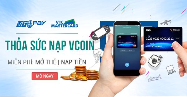 [Bạn có biết?] Miễn 100% phí giao dịch khi nạp Vcoin qua thẻ quốc tế! - ảnh 2