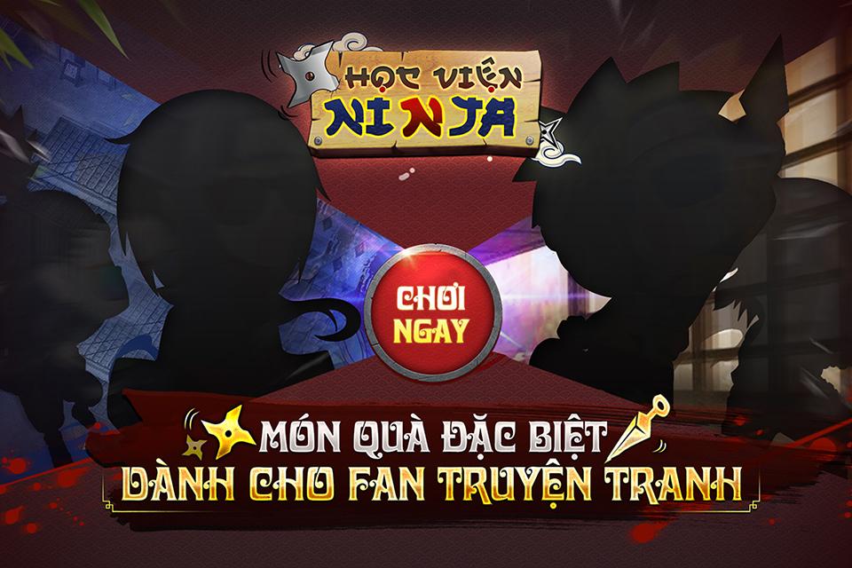 Game mobile Học Viện Ninja sắp cập bến Việt Nam - ảnh 1