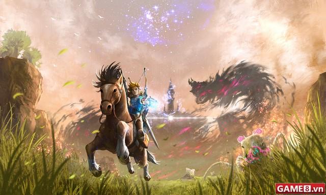 Nhân ngày Nintendo Switch ra đời, Zelda: Breath of the Wild nhanh chân tung gameplay hấp dẫn - ảnh 2