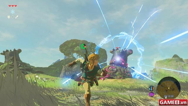 Nhân ngày Nintendo Switch ra đời, Zelda: Breath of the Wild nhanh chân tung gameplay hấp dẫn - ảnh 3