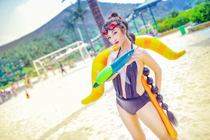 LMHT: Cosplay Vayne Bể Bơi khiến game thủ ngất ngây con gà tây