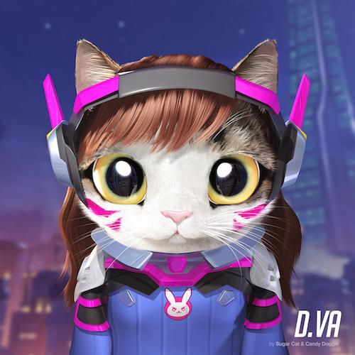 Sẽ ra sao khi các nhân vật Overwatch rủ nhau hóa thành ...  mèo?