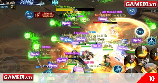 Võ Lâm Truyền Kỳ Mobile: Thủy Hoàng Giáng Thế - Hoạt động cực khó nhai trong lần cập nhật mới