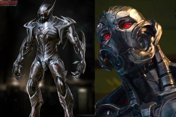 Tạo hình bị loại bỏ đẹp hơn cả bản chính thức của một số nhân vật phim bom tấn (Phần 2)