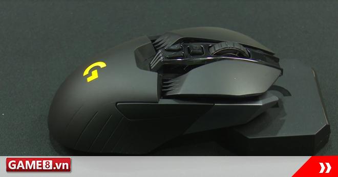 Trên tay chuột không dây G900 Chaos Spectrum: Chiến đấu cơ cao cấp của Logitech