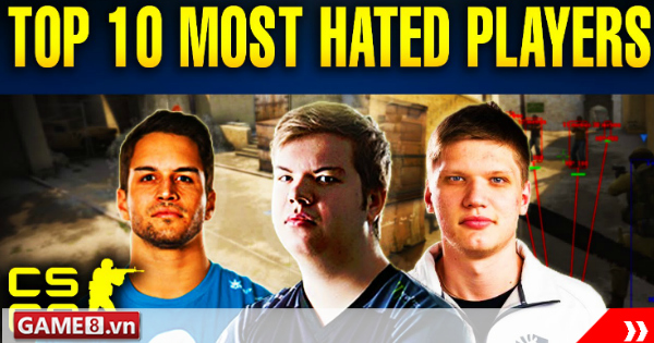 Top 10 game thủ chuyên nghiệp khó ưa nhất trong lịch sử của CS:GO