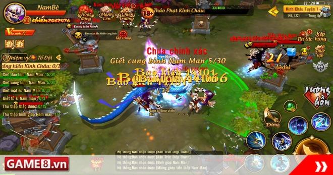 [Giftcode] Mộng Bá Vương 3D - Năm mới 'Vượt vũ môn hóa rồng'