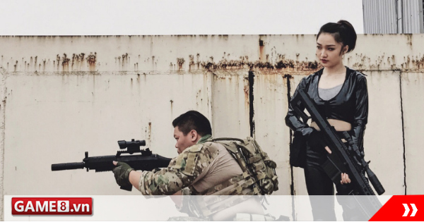 Lộ diện những hình ảnh cosplay Phục Kích Mobile đầu tiên của hot girl Huỳnh Nhật Hoa