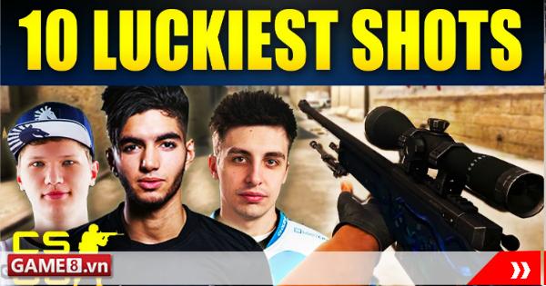 Top 10 pha súng may mắn nhất trong lịch sử của CS:GO