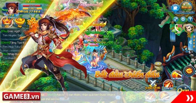 Kiếm Vũ Vô Song – MMORPG tái hiện Tiên Giới Tu Chân chính thức khai hoả, tặng code 2 triệu
