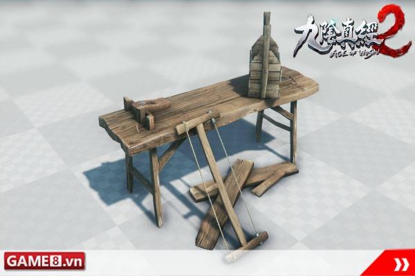 Cửu Âm Chân Kinh 2: Bất ngờ trước hình ảnh nông cụ xưa của người Việt sẽ xuất hiện trong game