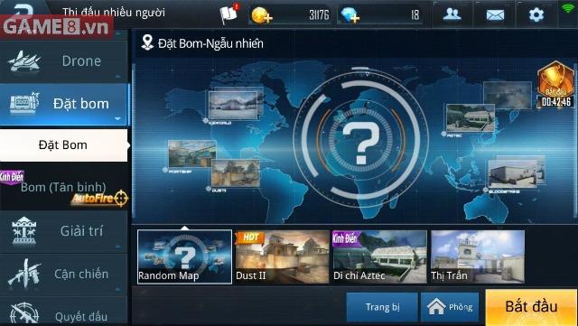 Kinh nghiệm chơi Đặt Bom trong Phục Kích Mobile game thủ nên biết