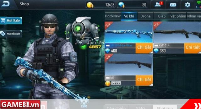 Shotgun – Những kẻ ''nhất đòn đoạt mạng'' trong Phục Kích Mobile