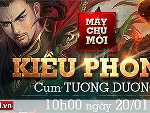 Ngao Kiếm Vô Song tặng 301 Giftcode server mới Kiều Phong