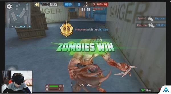 Xem Tiền Zombie V4 trải nghiệm Zombie trong Phục Kích Mobile: Vui thôi đừng vui quá!