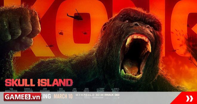 Khỉ Kong giao chiến ác liệt với quân đội Mỹ trong siêu phẩm được quay ở Việt Nam