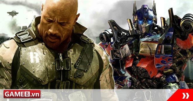 Các robot Transformers nhiều khả năng sẽ sát cánh với The Rock trong G.I.Joe 3