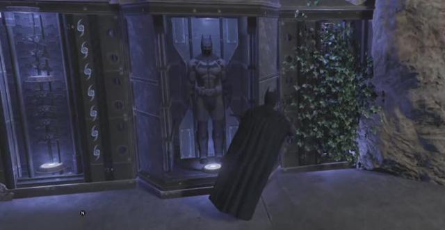 Ngay cả hang Dơi của Batman cũng đã được tái hiện hoàn chỉnh trong GTA 5