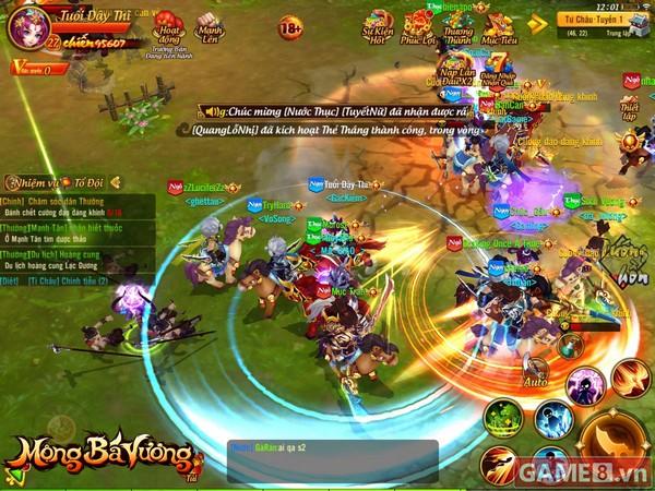 Mộng Bá Vương gửi tặng độc giả Game8 200 giftcode cực giá trị