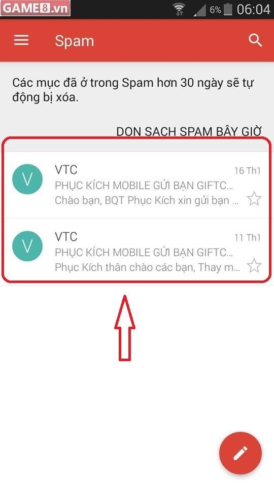 Phục Kích Mobile: Đã tham gia Event nhưng không nhận được giftcode trong Email, tại sao? - ảnh 3
