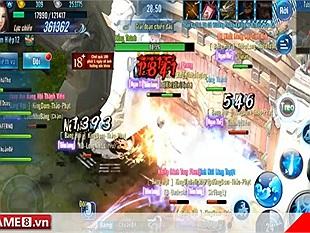 VLTK Mobile: Đấu lôi đài Đường Môn với Côn Lôn - Ai hơn ai?