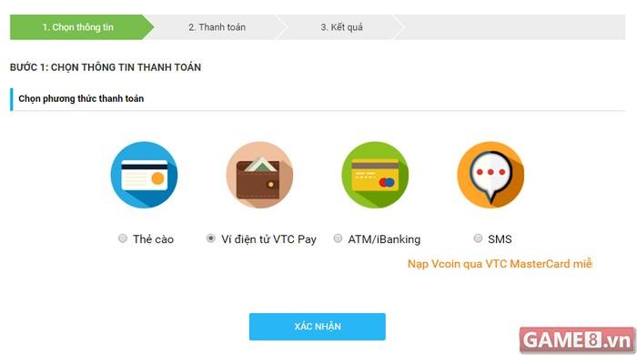 Rủng rỉnh Vcoin – khỏi lo chi phí khi nạp qua Ví điện tử VTC Pay - ảnh 2