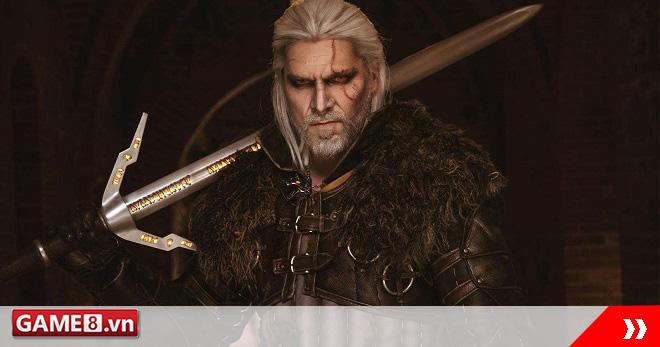 Choáng váng với Geralt phiên bản đời thực chất chả kém gì trong The Witcher 3