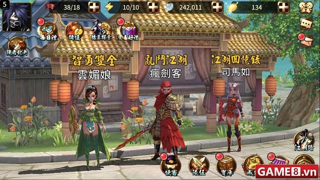Võ Lâm 2 - RPG kiếm hiệp kết hợp với võ thuật đẹp mắt độc đáo trong lối chơi