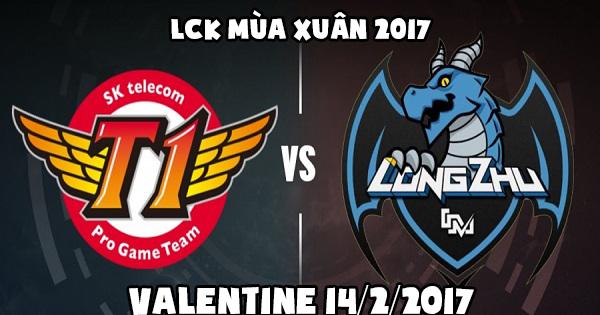LMHT: SKT T1 vs Longzhu Gaming - Valentine của kẻ tìm kiếm ngôi vương và người leo hạng không cân sức
