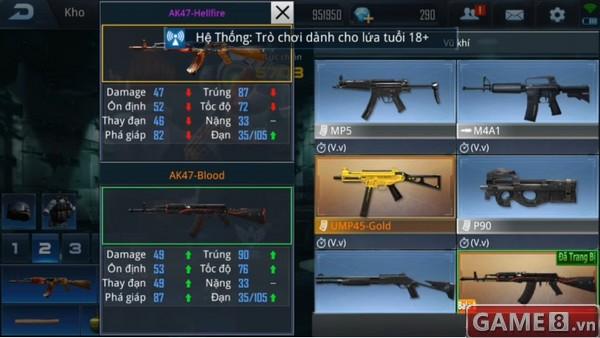 Phục Kích Mobile: AK47 Hellfire và AK47 Blood - Khi sức mạnh không thuộc về chiến binh mang ngọn lửa thần - ảnh 2