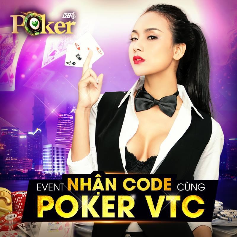 PokerVTC tặng game thủ 600 Giftcode nhân dịp ra mắt game thủ Việt