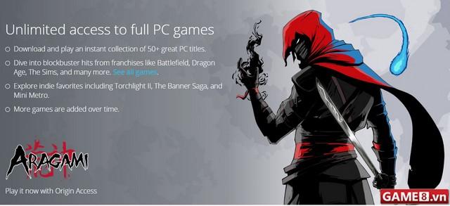 EA thử nghiệm dịch vụ Origin Access cho phép chơi game hoàn toàn miễn phí - ảnh 2