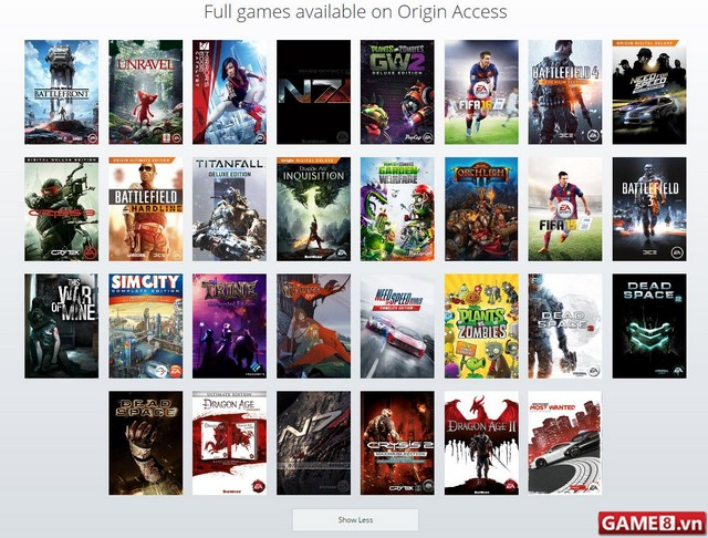 EA thử nghiệm dịch vụ Origin Access cho phép chơi game hoàn toàn miễn phí - ảnh 3
