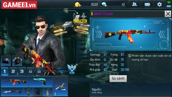 Phục Kích Mobile: Khi D.E Green Blade so hành cùng AK-47 Cloud - Đó sẽ là một cặp ''song sát''! - ảnh 1